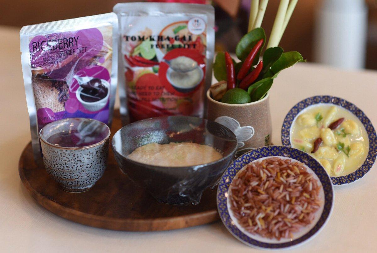 อาหารข้นหนืด ตำรับไทย